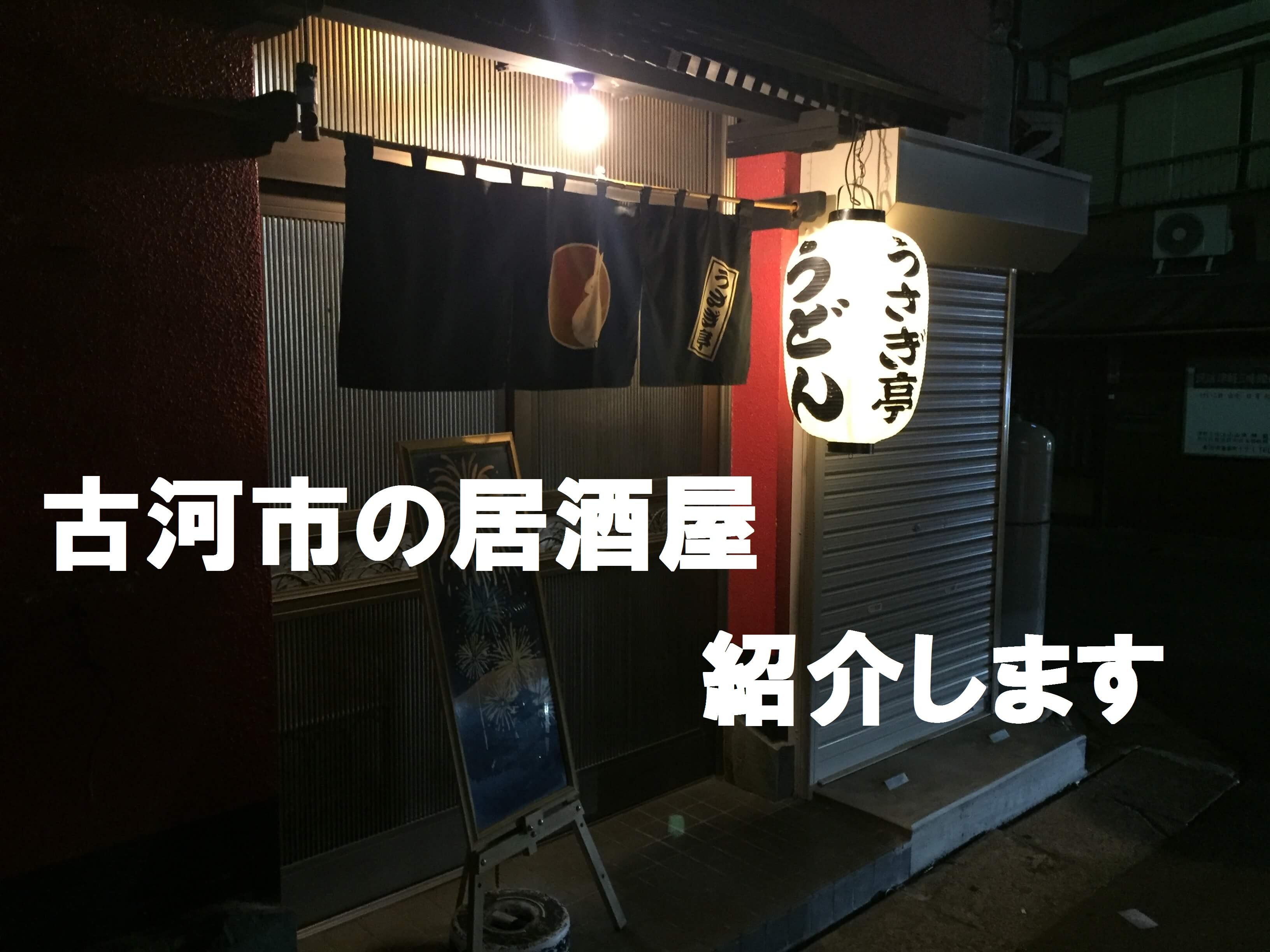 古河駅から徒歩1分、居酒屋「うさぎ亭」!居酒屋で迷ったらコチラ!!