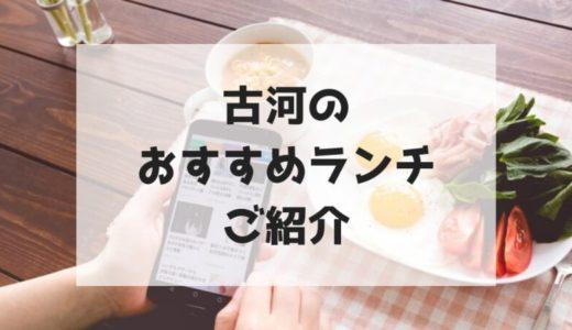 【古河】地元民がおすすめする美味しいランチのお店8選【随時更新】