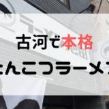 【ラーメン池田】本格とんこつラーメンを古河で食べよう!【古河でランチ】