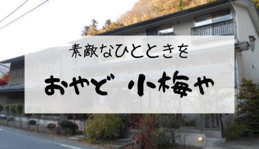 【おやど 小梅や】那須塩原に泊まるならココ!ゆっくりできるし、ご飯は美味です【写真多め】