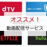 好きな映画は動画配信サービスで好きに観よう!