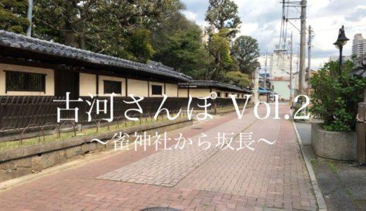 【古河さんぽ Vol.2】雀神社からお休み処坂長まで歩きました【動画あり】